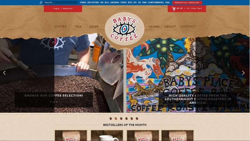 babys-coffee-website-design