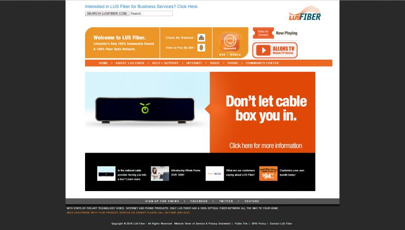 lus-fiber-website-design
